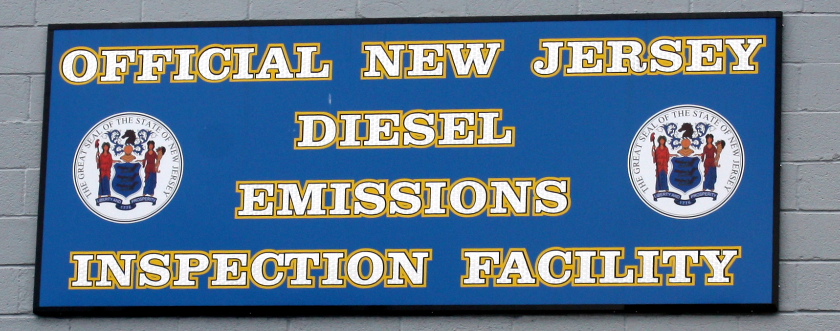 New Jersey Diesel Emissions inspection facility